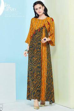 ارواب جميلة African Print Dresses, African Fashion Dresses, African Dress, Fashion Outfits, Batik Fashion, Abaya Fashion, Moslem Fashion, Cotton Gowns, Mode Abaya