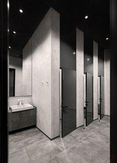 Wc Design, Toilet Design, Modern Design, Interior Design, Interior Concept, Atrium, Commercial Toilet, Commercial Bathroom Ideas, Wc Public