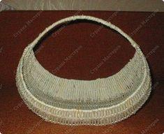 У меня просили показать плетение на проволоке, исполняю просьбу. Теперь корзина ждет завершающей отделки, но это будет потом.... фото 11