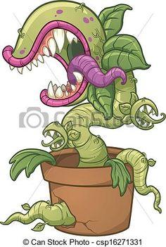 carnivorous plant draw - Buscar con Google