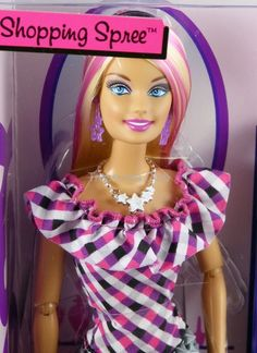 Barbie fashionistas sassy shops for makeup doll 72