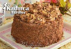 Krokanlı Çikolatalı Yaş Pasta Tarifi