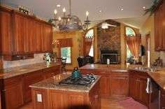 Heart room kitchen