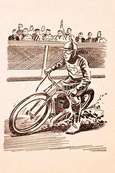 speedway motorcycle 1950