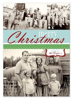 simple as that: free Christmas card templates