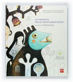 La princesa noche resplandeciente - Illustrations by Philip Giordano #illustrated #book