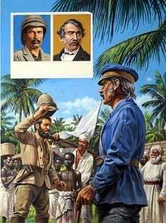 Dr Livingstone I Presume (Original) by Roger Payne at The Illustration Art Gallery