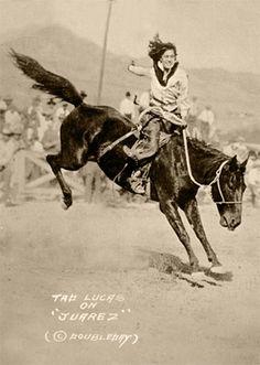 "Cowboys & Images - Tad Lucas on ""Juarez"" - [11"" x 14"" Custom Print]"