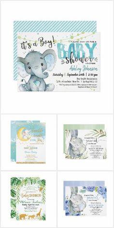 Elephant Baby, Baby Shower Themes, Little Babies, Baby Shower Invitations, Baby Boy, Shower Invitation, Boy Newborn, Toddler Boys, Baby Sprinkle Invitations