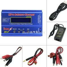 OOTDTY J34  Imax B6 Lipo Nimh Nicd RC Battery Balance Charger Discharger+AC Adapter 1set