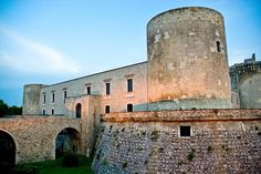 Castello Aragonese Torre del Balzo, Venosa (PZ). 40°58′00″N 15°49′00″E
