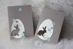 Polly kreativ War da noch was - Osterkarte Pictogram Punches SU Easter Wishes, Easter Gift, Easter Card, Easter Activities, Easter Cookies, Animal Cards, Diy Cards, Pin Collection, Easter Eggs
