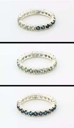 Ombre London Blue Topaz Ring By EE Silver Studio $389