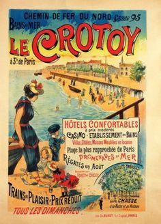 chemins de fer du nord - Le Crotoy - 1895 -