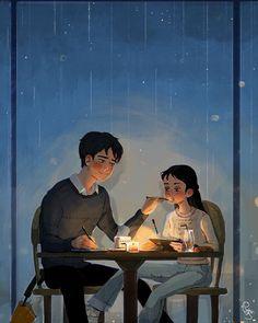 Lynn Choi: El amor cotidiano #LynnChoi #amor #love #ilustración