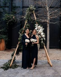 The Acacia and Delia bridesmaid dresses, designed and made in New Zealand