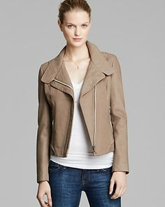 Sam Edelman Jacket - Lucy Asymmetric Leather | Bloomingdale's
