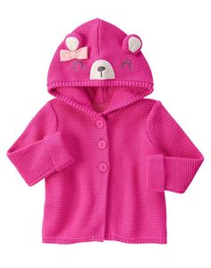 New Gymboree Coral Pink Bear Sweater Dress Size 3T NWT Woodland Wonder Line