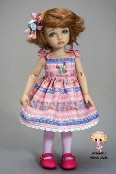 Mimin Dolls: festival de vestidinhos para sua doll