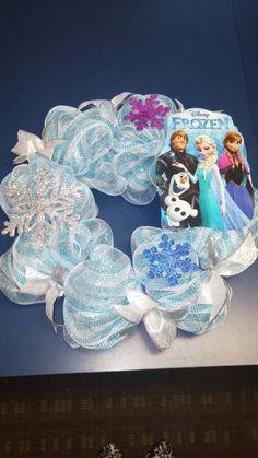 Disney Frozen wreath