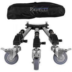 Ravelli ATD Professional Tripod Dolly for Camera Photo Video New Photo Accessories, Camera Accessories, Gopro, Black Friday Camera, Professional Camera, Photography Supplies, Gadgets, Movie Camera, Cinema Camera