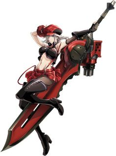 god eater anime character design alisa ilinichina amiella