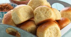 Soft, pillowy, pineapple-sweetened dinner rolls.