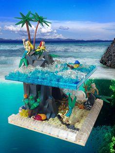 A Siren's Melody lego Lego Duplo, Lego Friends, Lego City, Legos, Lego Beach, Modele Lego, Construction Lego, Lego Furniture, Lego Creative