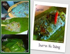 Inun-On Na Dulong ~a bicolano dish. Pinoy Kitchenette
