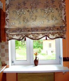 Римские и японские шторы своими руками Как сшить римские шторы