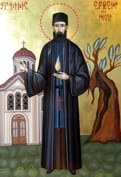 Saint ephraim of nea makri