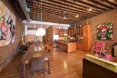 New York City Real Estate - 7 Old-School Lofts That Are Models of the Form -- New York Magazine... Love, love, love :)
