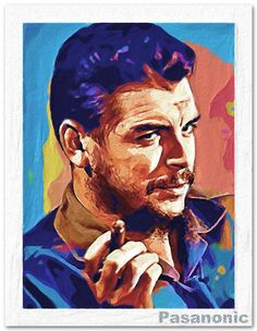 "Ernesto ""Che"" Guevara Corel Painter X. Che Quevara, Che Guevara Photos, Ernesto Che Guevara, Famous Pictures, Corel Painter, Fidel Castro, Magnum Photos, Photo Reference, Art Festival"