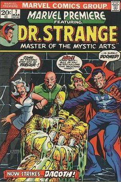Marvel Premiere # 7 by Michael Ploog