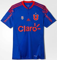 Nice Day Sports: Universidad de Chile 2016 Home Kit Jersey Shirt / ...
