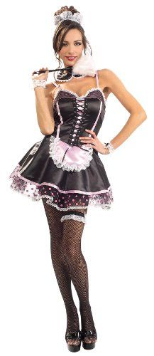 cda434887ef Naughty French Maid Costume   French Maids   Costumes   Shop by Category    Zaphon - Sexy Lingerie-Bikinis