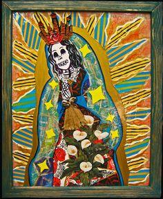 La Virgen de Calavera by Martha Rodriguez