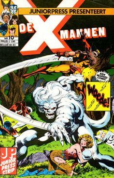 X-Mannen #10 Woede!