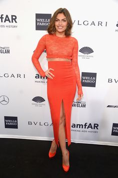 Alyssa Miller Photos: Arrivals at the amfAR New York Gala — Part 2