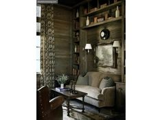 we are both intrigued with cypress panelling, it seems so southern.  Country Chic | Atlanta Homes & Lifestyles