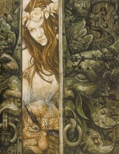 Brian Froud. From the book The  Goblins of the Labyrinth