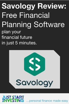 Savology Review: Savology is FREE financial planning software that can help individuals understand their personal finances and create a financial plan. | juststartinvesting.com  #financialplan #financialplanning #savology #review #software #financialsoftware #free #personalfinance #retirementplanning Retirement Planning, Financial Planning, Just Start, Money Today, Finance Tips, Money Management, Personal Finance, Saving Money, Budgeting