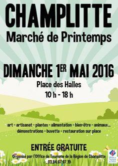 affiche Marché de Printemps à Champlitte