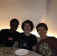 The boys in Paris for ComiCon