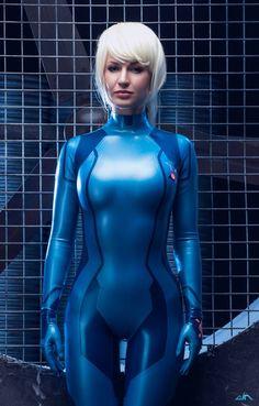 Character: Samus Aran (Zero Suit) / From: Nintendo's 'Metroid: Zero Mission' / Cosplayer: Maria Khanna (aka Maria Hanna Cosplay, aka Hannuki)