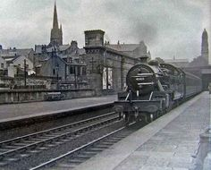 Estación Central de Greenock, situada a 20 Km de Glasgow, Escocia