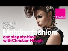 Photography Lighting Techniques - Photographing Fashion one light at a time with Christian Hough - YouTube
