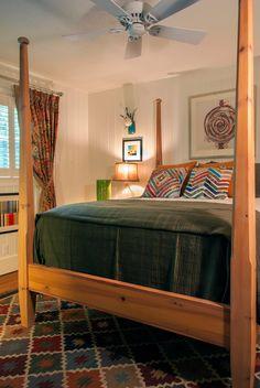 Guest Bedroom After  lucaspattondesign.com  Highlands NC Interior Design
