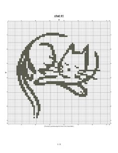 Gallery.ru / Фото #155 - Кошки (схемы) 2 - Olgakam Cat Cross Stitches, Funny Cross Stitch Patterns, Cross Stitch Freebies, Cross Stitch Charts, Cross Stitch Embroidery, Knitting Paterns, Diy Perler Beads, Cat Quilt, Cross Stitch Animals
