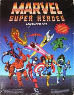 Marvel Super Heroes Advanced Set even today I still probably ran and played more sessions of Marvel than any other RPG.
